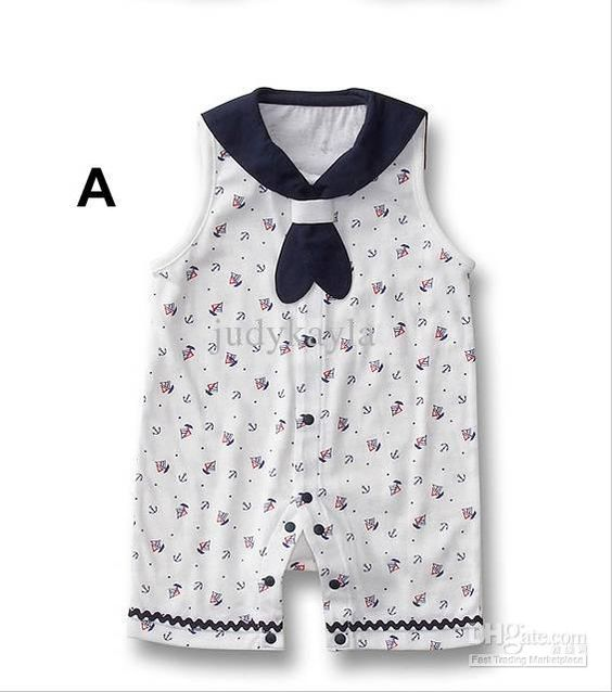 Factory Clear Stock Summer 100 Pure Cotton Baby Clothes Infant Boy Girl Cute Rompers/Jumpsuits Wear