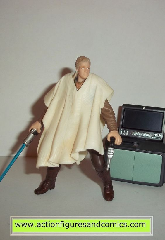 star wars action figures ANAKIN SKYWALKER outland peasant disguise 2002 complete attack of the clones saga aotc
