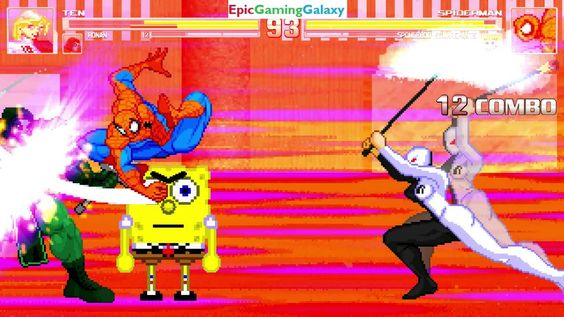 Spider-Man And SpongeBob SquarePants VS Ten And Ronan The Accuser In A MUGEN Match / Battle / Fight This video showcases Gameplay of Ronan The Accuser And Ten The Member Of The Royal Flush Gang VS Spider-Man The Superhero And SpongeBob SquarePants In A MUGEN Match / Battle / Fight