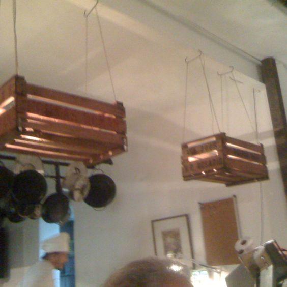 Cajones de verdura como lamparas deco pinterest for Cocina 88 el cajon