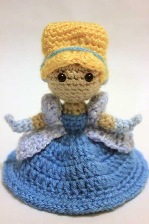 Amigurumi Disney Gratis : Cinderella doll amigurumi pattern by sahrit disney