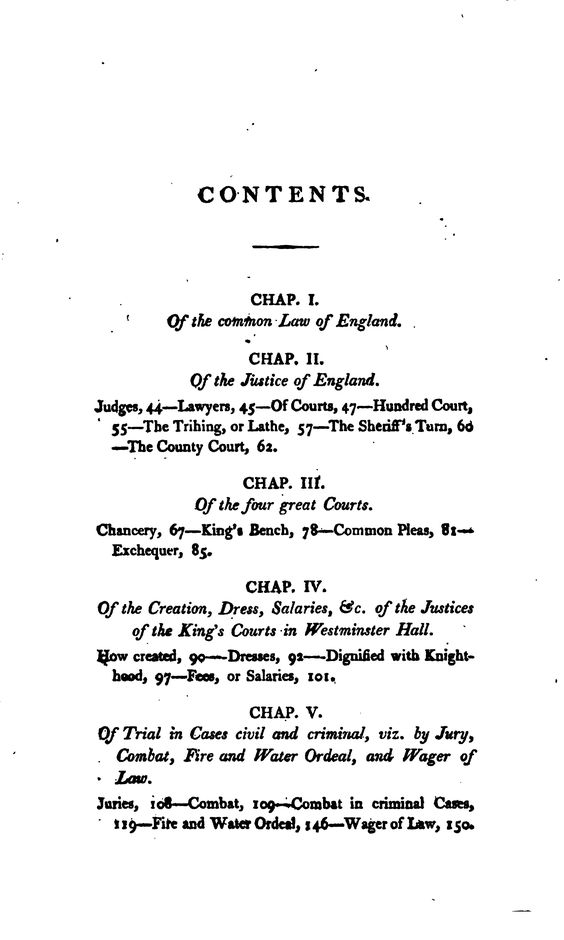Antiquities of the Inns of Court and Chancery : containing historical and descriptive sketches relative to their original foundation, customs, ceremonies, buildings, government, &c. &c. : with a concise history of the English law