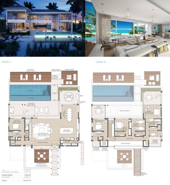 Beachfront Grace Bay Providenciales Turks And Caicos Islands Luxury Home For Sale Dream House Plans Luxury House Plans Mansion Floor Plan