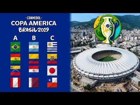Copa America 2019 Prediccion Y Analisis Sorteo Grupos Fechas Y Sedes Youtube Copa America America Sorteo