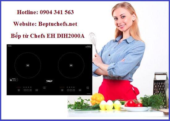 Người dùng nói gì về bếp từ Chefs EH DIH2000A sau khi dùng