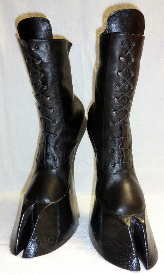Fetish Hoof Boots 84