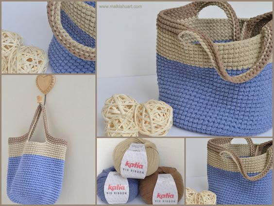 Crochet Patterns Ribbon Yarn : crochet totes purse crochet crochet stuffies crotchet crochet patterns ...