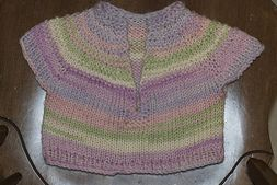 Ravelry: Baby Girl's Short Sleeved Pullover pattern by Suzetta Williams