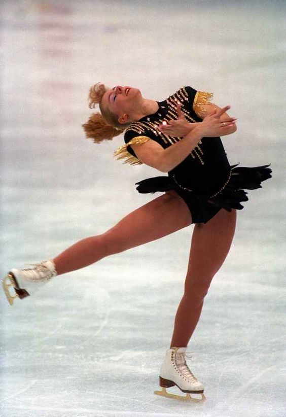 And — of course — Tonya Harding, the most controversial but magnetic figure skater of the '90s.
