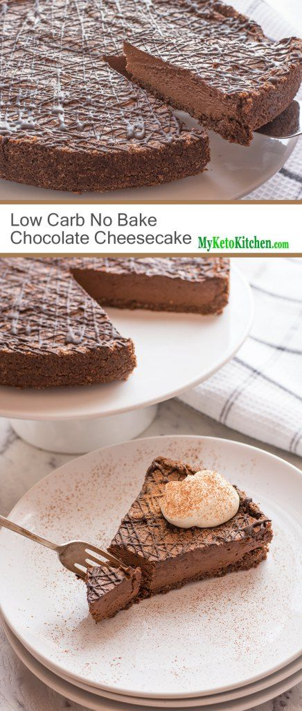 So Creamy Easy No Bake Recipe Chocolate Cheesecake Recipes