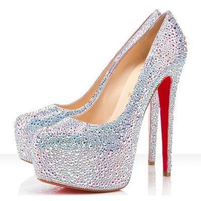 Christian Louboutin $6,400 - My wedding shoes ;D
