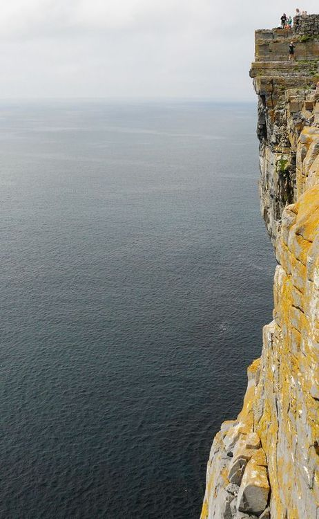 The rock cliffs, Inishmore, Ireland |