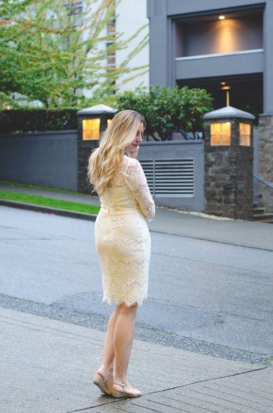 Davids Bridal Lace Engagement Party Dress! #engagementparty #partydress #lacedress #wedding #bridal #DavidsBridal