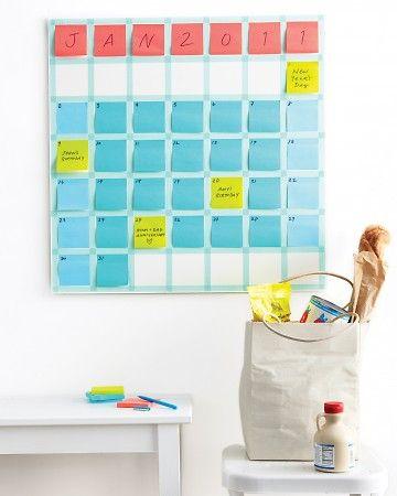 Create a Smart Calendar for the Year