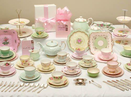 vintage tea set!!