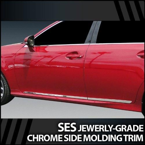 2006-2010 Lexus IS SES Chrome Door Molding Trim This Part Perfectly Fits: 2006-2010 Lexus IS. Proudly made and produced in the USA. Factory-Grade 304 Super#8 Stainless Steel Material. Simple peel & stick installation with no cutting or drilling in any way. If you have any questions or concerns, feel free to contact us through Amazon (We are here to help).  #Upgrade_Your_Auto #Automotive_Parts_and_Accessories