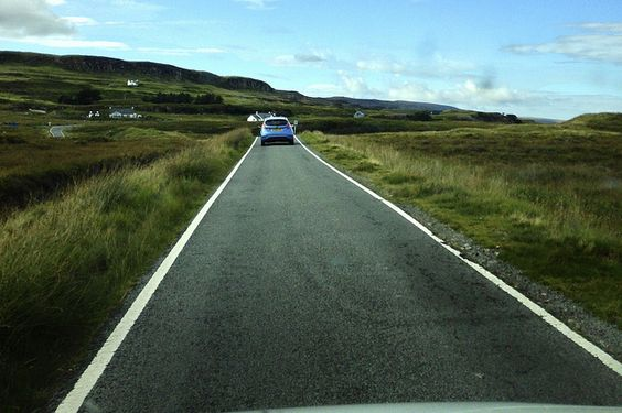 Driving on Skye | Flickr - Photo Sharing!