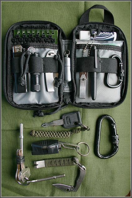 Maxpedition Mini Pocket Organizer Survival Kit