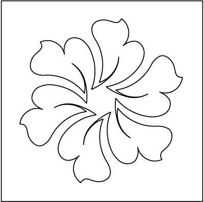 """Urban Elementz: Hyacinth Block - Stencil 6"""""""