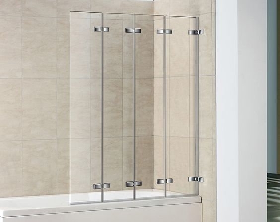 Folding Shower Screen Google Search Bath Screens Shower Doors Tub With Glass Door