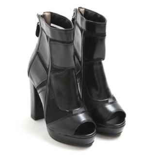 Buy 'Koo – Mesh-Trim Chunky Heel Platform Boots' at YesStyle.com plus more South Korea items and get Free International Shipping on qualifying orders.