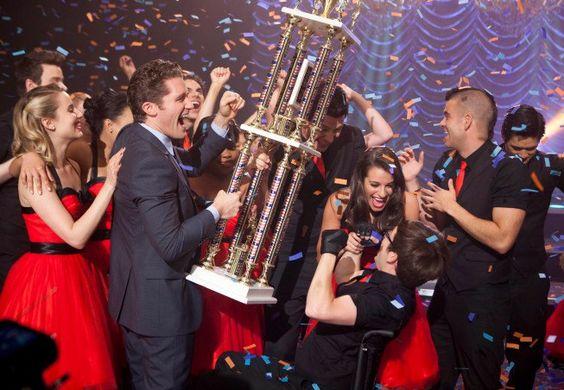 Winning Regionals. Quinn. Puck. Rachel.