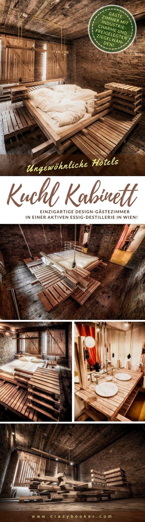 Design Gästezimmer \'Kuchl Kabinett\' | Der Industriecharme der ...