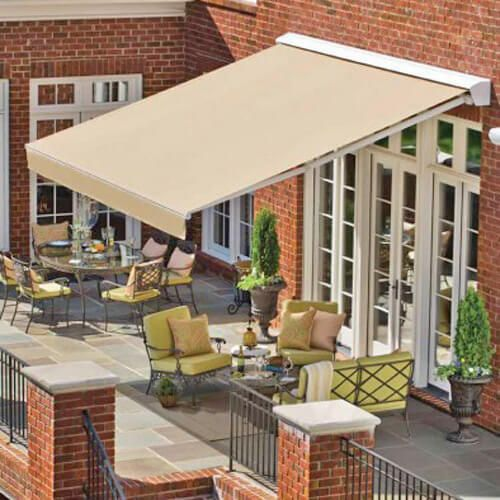 Solair Shade Solutions Awning Ps2000 15 6 X 10 2 In 2020 Retractable Awning Patio Design Patio Awning