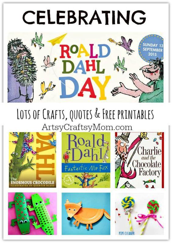 Citaten Roald Dahl : Celebrating roald dahl day crafts quotes free