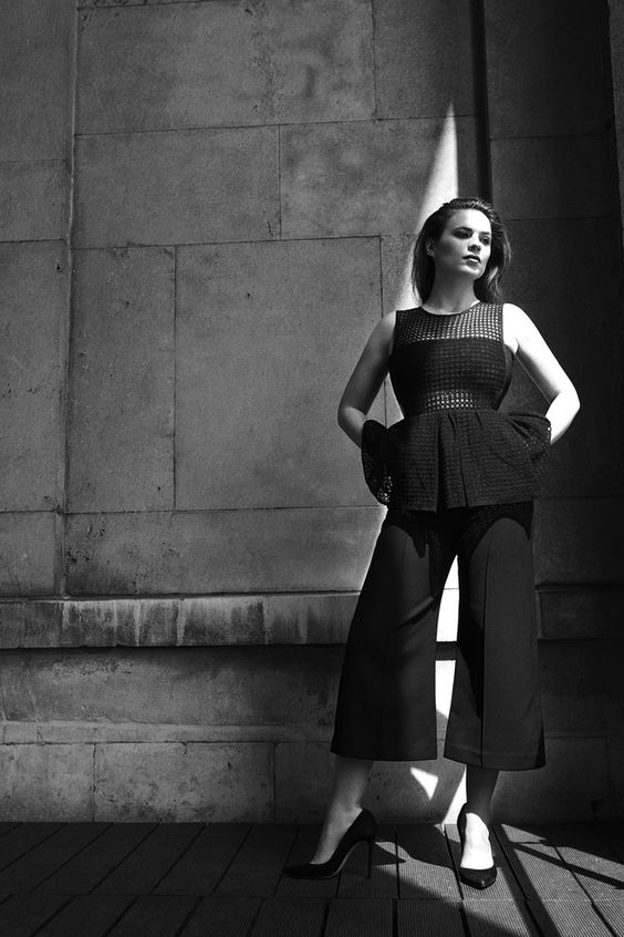 Hayley Atwell talks about empowerment & her big boobs in Evening Standard - Hollywood Gossip | MovieHotties.com