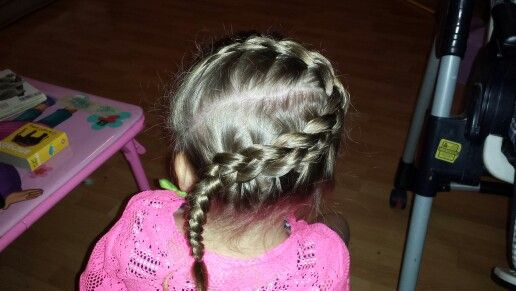My daughters favorite braid