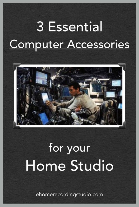 Stupendous 3 Essential Computer Accessories For A Home Recording Studio Largest Home Design Picture Inspirations Pitcheantrous