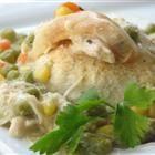 Chicken & Biscuit Casserole