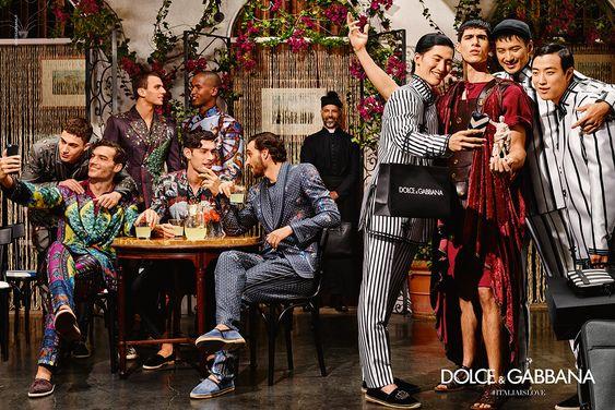 Resultado de imagen para dolce gabbana 2016 campaign men