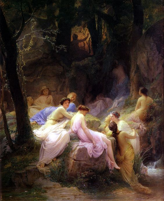 Nymphs listening to Orpheus - Alexandre Cabanel