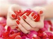 Rode nagels, altijd mooi!