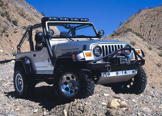 Jeep Wrangler - Dune ride