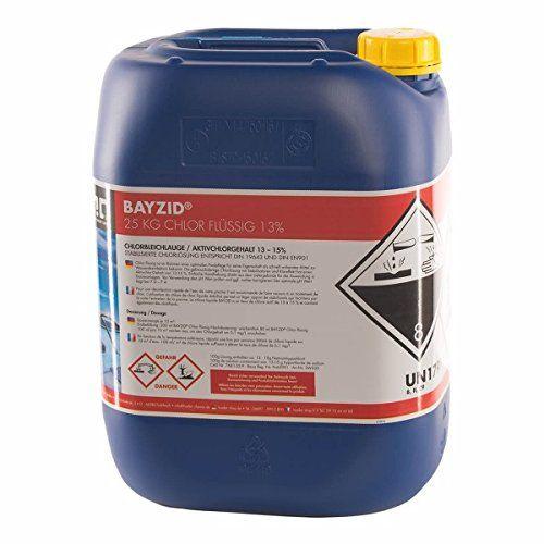 Chlor Flussig 1 X 25 Kg Pool Flussigchlor Mit 13 Bis 15