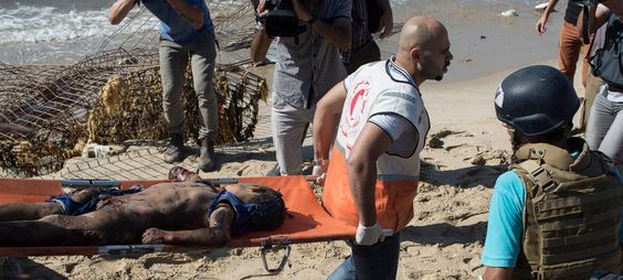 Israël doodt vier kinderen op het strand van Gaza | VICE | Netherlands