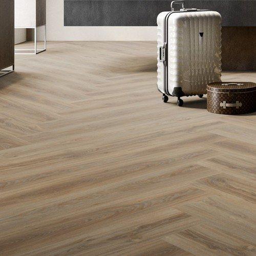 Moduleo Herringbone Floor Transform Blackjack Oak 22229 Moduleo