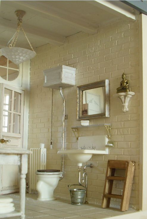 ♥ ♥ Pipi's Miniatures: A bit of bathroom                                                                                                                                                      Mehr