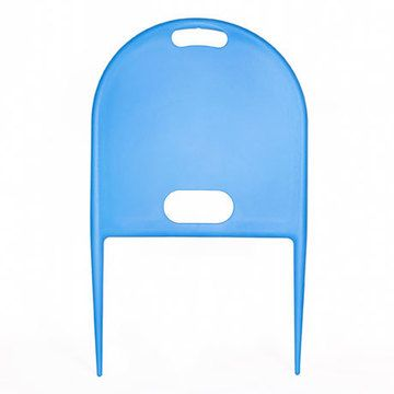Beachy Thing. smart little chair back that you push into the sand for an instant beach chair!