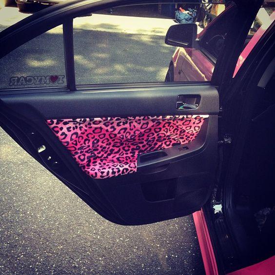 Custom Car Interior Purple Pink Interior Lamborghini A Girls Car