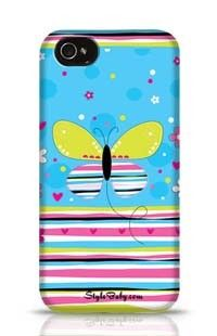 Butterfly Love Apple iPhone 4S Phone Case
