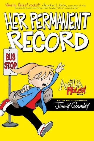 Her Permanent Record by Jimmy Gownley reviewed by Katie Fitzgerald @ storytimesecrets.blogspot.com