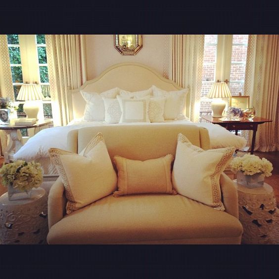 Beautiful inspiration for the master bedroom