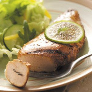 Garlic-Lime Chicken Recipe (marinade for grilling)