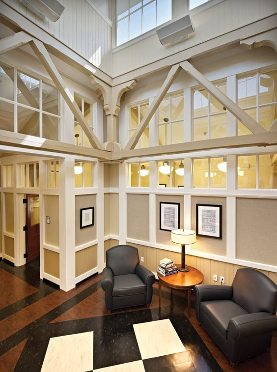 Newcomb Hall Renovation By Glav Holmes Architecture At