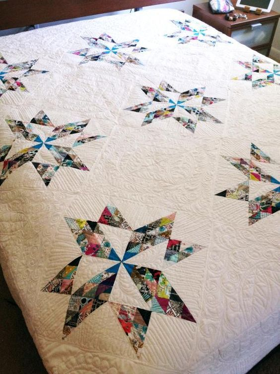 breaking clouds quilt