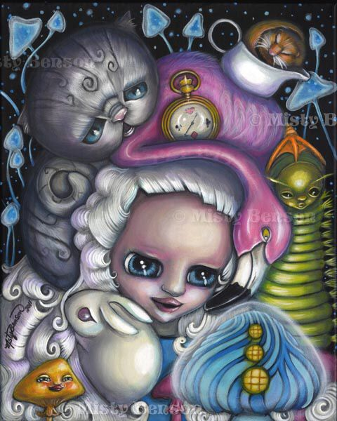Alice in wonderland by Misty Benson